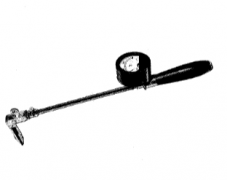 WRE-890M凸型表面热电偶温度计