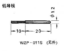 WZP-011S引进型陶瓷铂电阻元件