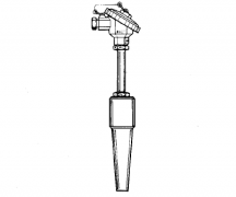 WRER-14化工用焊接式锥形套管热电偶