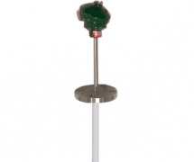 WZP-430-F固定法兰烧结四氟耐腐热电阻