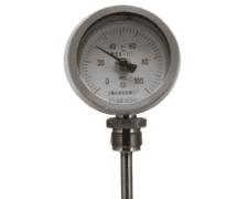 WSS-381可动外螺纹万向双金属温度计