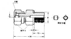 铠装热电偶探杆安装固定方式及图片