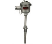 WRE-640防爆热电偶(固定螺纹锥形套管带隔爆接线盒)