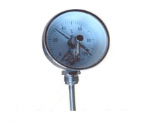 WSSX-481可动外螺纹万向电接点双金属温度计