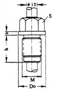 化工用热电偶、热电阻固定螺纹执行标准及图片尺寸