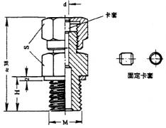 化工用热电偶、热电阻卡套螺纹图片尺寸及执行标准