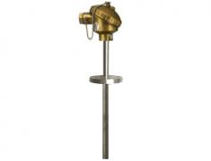 WRNN-430固定法兰涂层耐磨热电偶