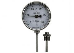 WSS-461可动外螺纹径向抽芯式双金属温度计
