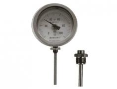 WSS-361可动外螺纹径向抽芯式双金属温度计
