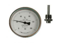 WSS-551可动外螺纹轴向抽芯式双金属温度计