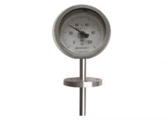 WSS-384固定法兰万向双金属温度计