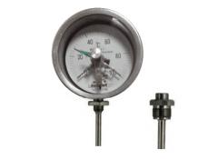 WSSX-461可动外螺纹径向抽芯式电接点双金属温度计