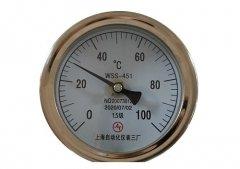 WSS-451不锈钢抽芯式双金属温度计